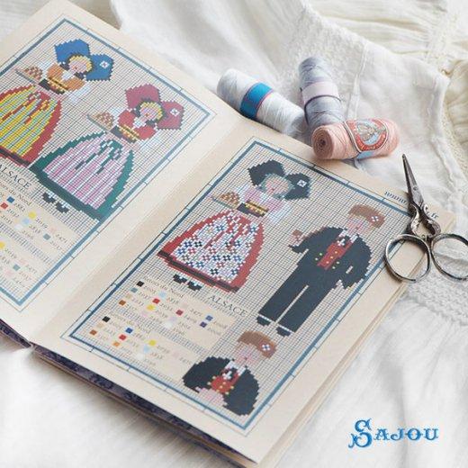 フランス SAJOU 刺繍図案 913【民族衣装】【画像5】