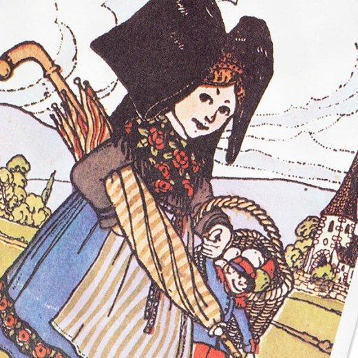 フランスポストカード (ハンジ HANSi faire des courses)【画像3】