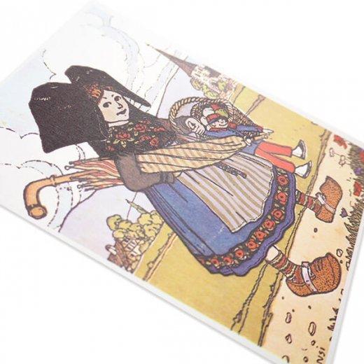 フランスポストカード (ハンジ HANSi faire des courses)【画像4】