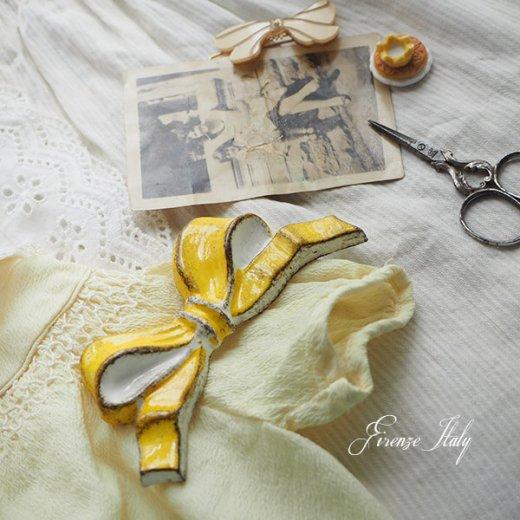 SOLDI ソルディ イタリア フィレンツェ リボン【Jaune Brillant】【画像3】
