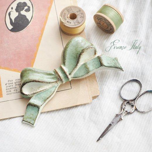 SOLDI ソルディ イタリア フィレンツェ リボン【opal green】【画像3】
