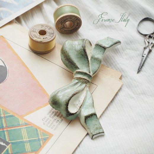 SOLDI ソルディ イタリア フィレンツェ リボン【opal green】【画像4】