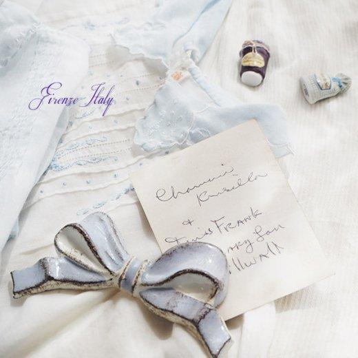SOLDI ソルディ イタリア フィレンツェ リボン【chalk blue】【画像4】