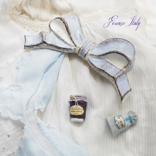 SOLDI ソルディ イタリア フィレンツェ リボン【chalk blue】【画像7】