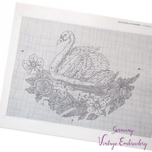 ドイツ  ヴィンテージ 刺繍本  Zahlmusterheft【7】【画像2】