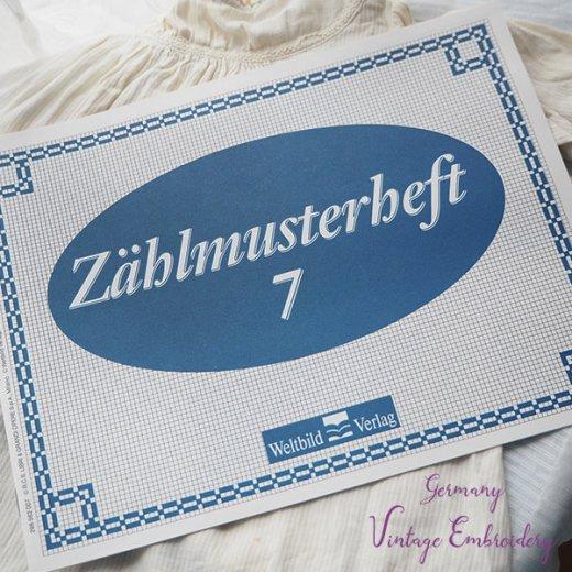 ドイツ  ヴィンテージ 刺繍本  Zahlmusterheft【7】【画像7】