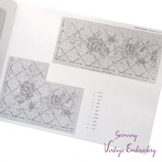 ドイツ  ヴィンテージ 刺繍本  Zahlmusterheft【5】【画像4】