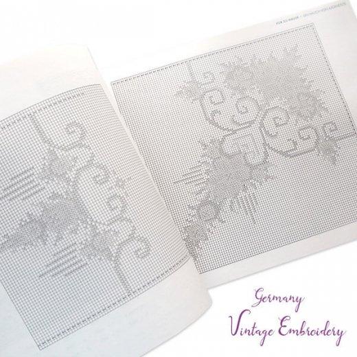 ドイツ  ヴィンテージ 刺繍本  Zahlmusterheft【5】【画像6】