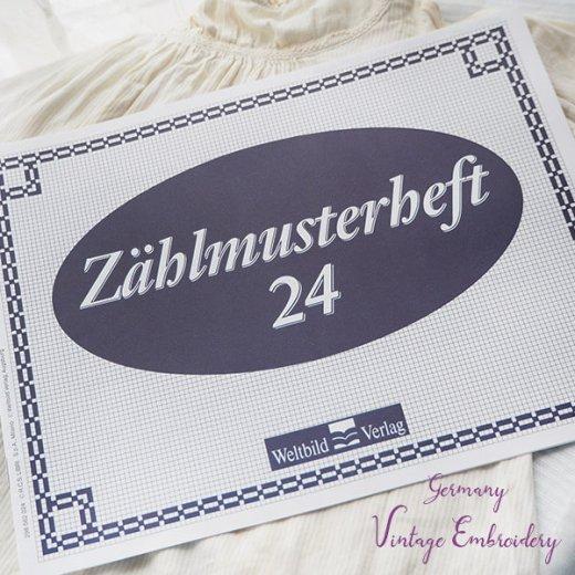ドイツ  ヴィンテージ 刺繍本  Zahlmusterheft【24】【画像8】