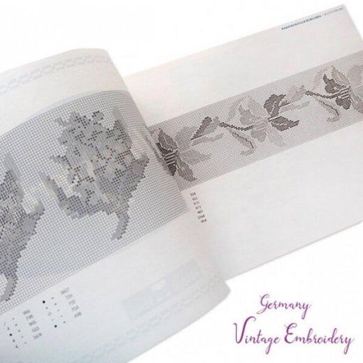 ドイツ  ヴィンテージ 刺繍本  Zahlmusterheft【4】【画像4】