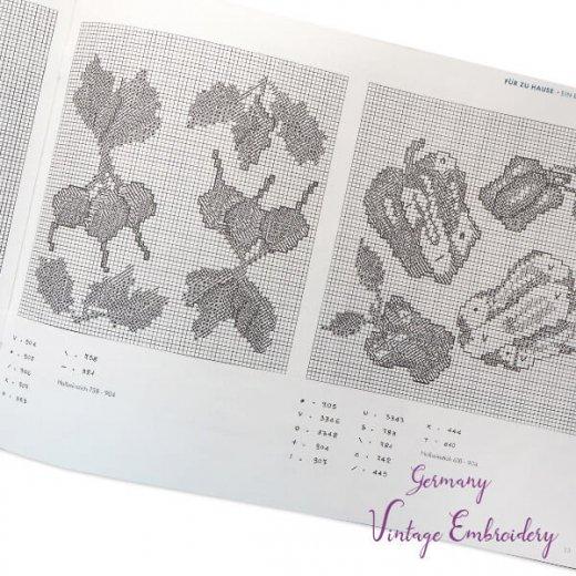 ドイツ  ヴィンテージ 刺繍本  Zahlmusterheft【4】【画像6】