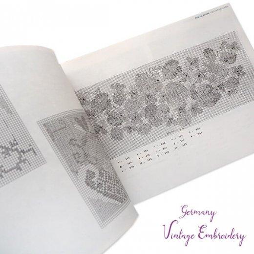ドイツ  ヴィンテージ 刺繍本  Zahlmusterheft【4】【画像7】