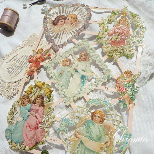 ドイツ クロモス【M】花と天使たち【画像2】