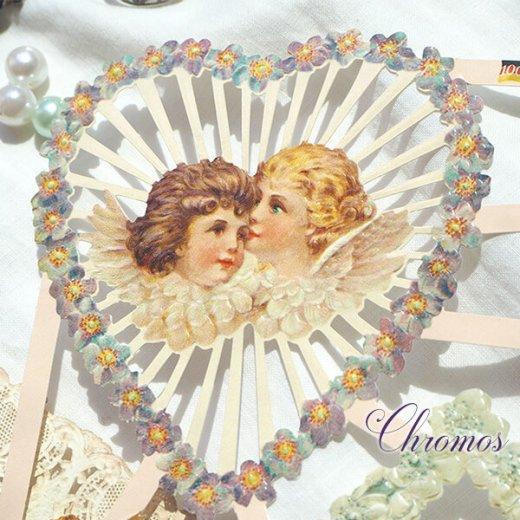 ドイツ クロモス【M】花と天使たち【画像3】