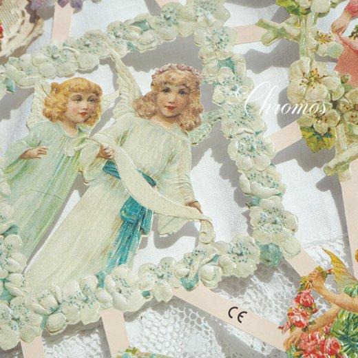 ドイツ クロモス【M】花と天使たち【画像5】