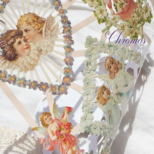 ドイツ クロモス【M】花と天使たち【画像6】