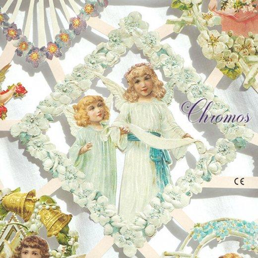 ドイツ クロモス【M】花と天使たち【画像8】