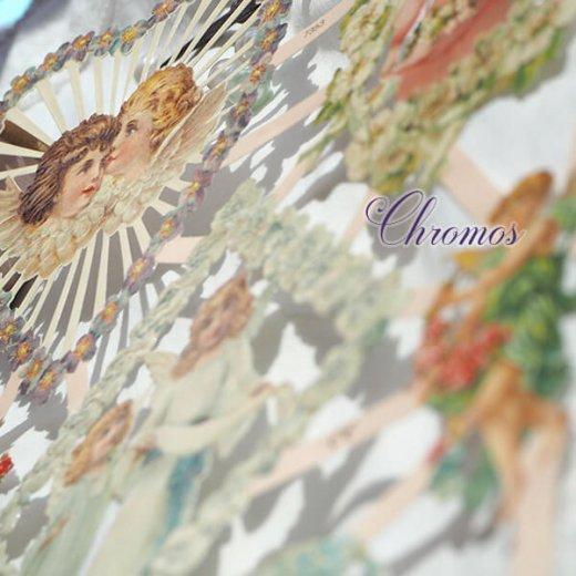 ドイツ クロモス【M】花と天使たち【画像9】
