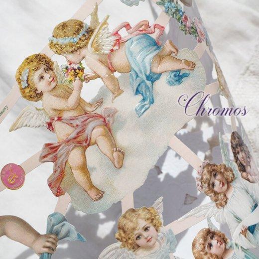 ドイツ クロモス【M】雲と天使【画像3】