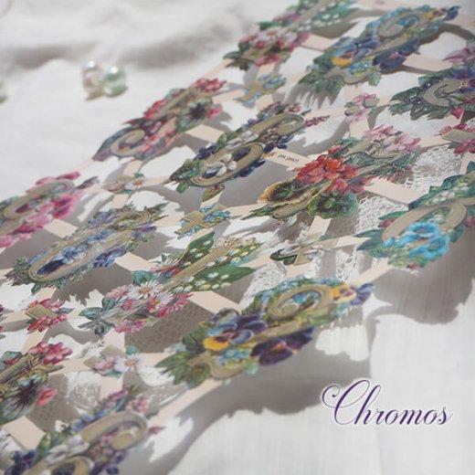 ドイツ クロモス【M】花と数字【画像2】