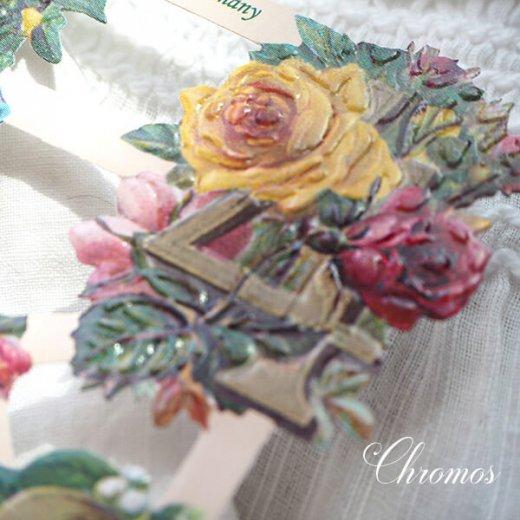 ドイツ クロモス【M】花と数字【画像4】