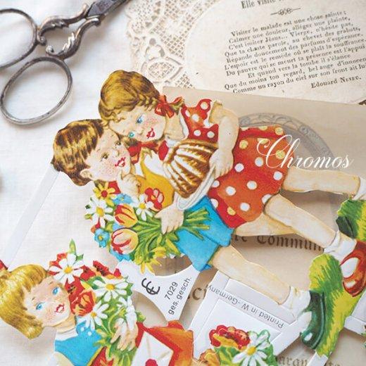 ドイツ クロモス【M】花と幼子【画像6】