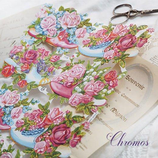 ドイツ クロモス【M】幸せの靴と花【画像5】