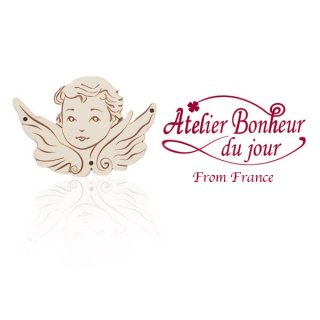 輸入ボタン アトリエ・ボヌール フランス輸入ボタン アトリエ・ボヌール・ドゥ・ジュール【天使】
