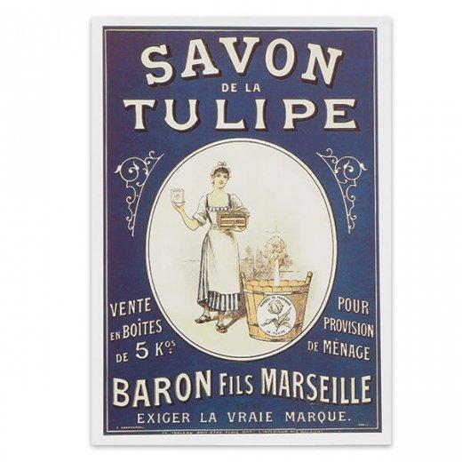 フレンチポストカード (savon de la tulipe)