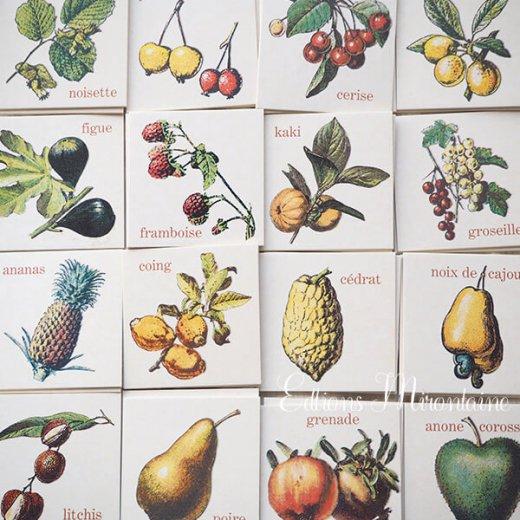 フランス 記憶力 カードゲーム メモワール【フルーツ】 Editions Mirontaine エディション ミロンテーン社【画像8】