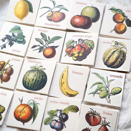 フランス 記憶力 カードゲーム メモワール【フルーツ】 Editions Mirontaine エディション ミロンテーン社【画像9】