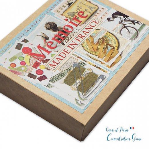 フランス 記憶力 カードゲーム メモワール【made in france】  Editions Mirontaine エディション ミロンテーン社【画像2】