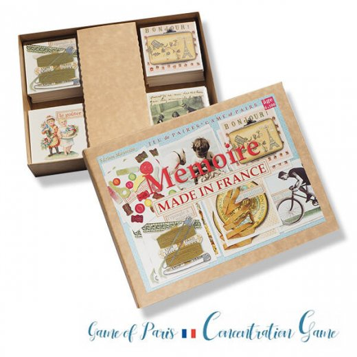 フランス 記憶力 カードゲーム メモワール【made in france】  Editions Mirontaine エディション ミロンテーン社【画像3】