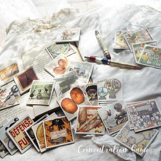 フランス 記憶力 カードゲーム メモワール【made in france】  Editions Mirontaine エディション ミロンテーン社【画像4】
