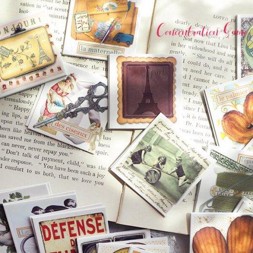 フランス 記憶力 カードゲーム メモワール【made in france】  Editions Mirontaine エディション ミロンテーン社【画像6】