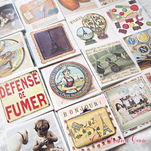 フランス 記憶力 カードゲーム メモワール【made in france】  Editions Mirontaine エディション ミロンテーン社【画像7】