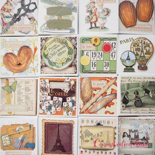 フランス 記憶力 カードゲーム メモワール【made in france】  Editions Mirontaine エディション ミロンテーン社【画像10】