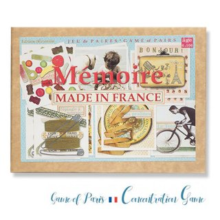 フランス 記憶力 カードゲーム メモワール【made in france】  Editions Mirontaine エディション ミロンテーン社