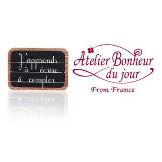 輸入ボタン アトリエ・ボヌール フランス輸入ボタン アトリエ・ボヌール・ドゥ・ジュール【ブラックボード】