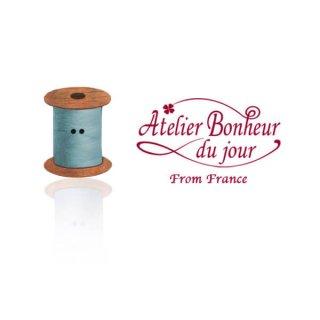 輸入ボタン アトリエ・ボヌール フランス輸入ボタン アトリエ・ボヌール・ドゥ・ジュール【ライト・ブルー 糸巻き】