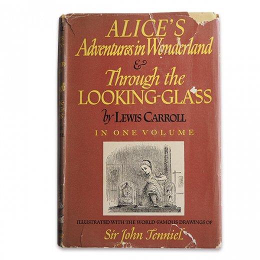 【送料無料】イギリス 1941年 アンティーク本 不思議の国のアリス 童話 Adventure in Wonderland