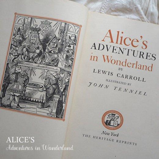 【送料無料】イギリス 1941年 アンティーク本 不思議の国のアリス 童話 Adventure in Wonderland【画像3】