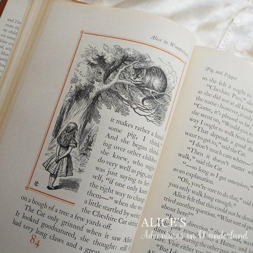 【送料無料】イギリス 1941年 アンティーク本 不思議の国のアリス 童話 Adventure in Wonderland【画像6】