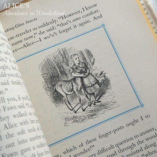 【送料無料】イギリス 1941年 アンティーク本 不思議の国のアリス 童話 Adventure in Wonderland【画像8】