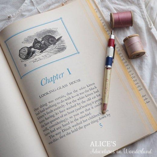 【送料無料】イギリス 1941年 アンティーク本 不思議の国のアリス 童話 Adventure in Wonderland【画像10】