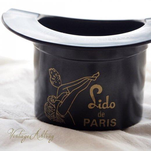 フランス  1940年代 アンティーク Lido de PARIS ベークライト製 アッシュトレイ アドバタイジング【画像2】