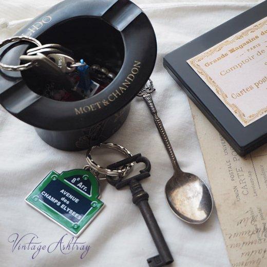 フランス  1940年代 アンティーク Lido de PARIS ベークライト製 アッシュトレイ アドバタイジング【画像6】