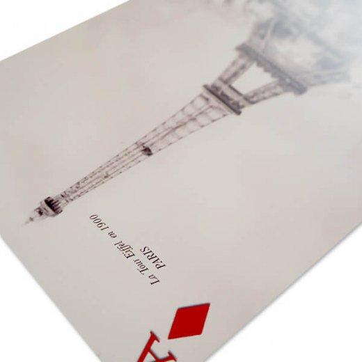 フランス 封筒付きポストカード 【パリ万博とエッフェル塔】 エディション ミロンテーン Editions Mirontaine【画像4】