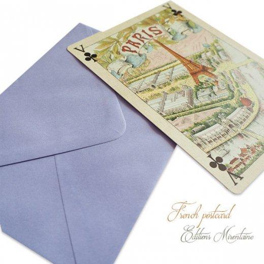 フランス 封筒付きポストカード 【エッフェル塔 1900年 万博のパリ】 エディション ミロンテーン Editions Mirontaine【画像5】