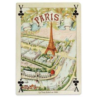 フランス 封筒付きポストカード 【エッフェル塔 1900年 万博のパリ】 エディション ミロンテーン Editions Mirontaine